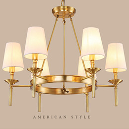 Traditional brass chandeliers nz buy new traditional brass american rustic style brass chandelier european led pendant lights simple living room bedroom dining study room nordic garden lighting lamps aloadofball Image collections