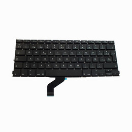 Sp laptopS online shopping - For apple MacBook Pro Retina quot A1425 keyboard SP Spanish Layout Laptop Keyboard Brand New Black