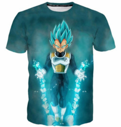 d55e45bfbf39c6 New Fashion Women Men Anime Dragon Ball Z Cool Vegeta Short Sleeves 3D  Print T-shirt Summer Casual T-shirt S--5XL AA198