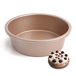 Copper Cake Pan Mould 6 Inch Non Stick Round Shape Cake Molds Baking Pan Metal Baking Molds Cake Baking Tool Kitchen Accessories