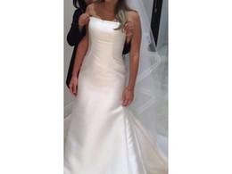 $enCountryForm.capitalKeyWord UK - 2017 Modern Satin Wedding Dress Trumpet Dropped Waist Custom Made COR-649 Bridal Gown Casamento Robe De Mariee