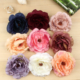 $enCountryForm.capitalKeyWord Canada - 10cm Beauty Flower Hair Clips For Girls Bohemian Style Floral Women Girl Hairpins Accessories Blooming Headwear Wholesale
