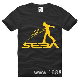 T Shirt Cotton Sport Fashion Canada - New Summer Style SEBA T Shirts Men Cotton Short Sleeve Skateboarding Men's T-Shirt Fashion Roller Skating Jerseys Sport Shirts