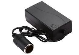 Car lighter 12v dC online shopping - 100V V AC to V DC Perfect Protection W Vehicle Power Converter Battery Adapter Car Exquisite Cigarette Lighter Socket