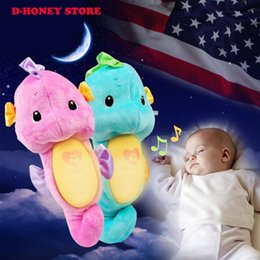 $enCountryForm.capitalKeyWord Canada - 28Cm New Arrival Creative cartoon sleep sea horse plush toys high quality baby child pillow doll birthday gift dhl shipping