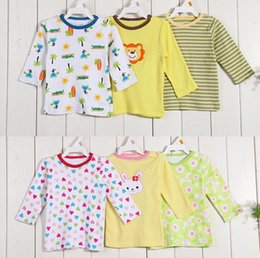 $enCountryForm.capitalKeyWord Canada - Baby Boys Grils Clothes Summer Fall Sping Toddler Cotton Long-Sleeved T-shirts Kids Tops Clothing hight quality