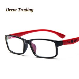 9843f0ad050 Wholesale- NEW Myopia Clear Lenses Eyeglasses Frames Eyewear Plain Glass  Spectacle Frame Optical Brand Eye Glasses Frames 2308