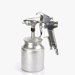 $enCountryForm.capitalKeyWord UK - hot selling W-77S pneumatic paint spray gun 2.0mm nozzle high atomization air spraying tools furniture woodworking car coating free shipping