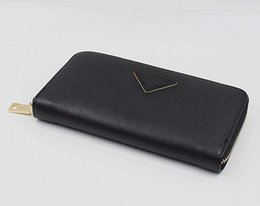 Vente en gros Nouvelle arrivée Marque De Mode Designer Femmes Fold Wallet Clutch Clutch Purse Sacs Saffiano sac longue carte portefeuille GG30