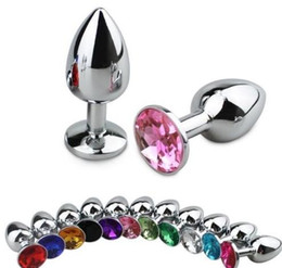 sexy love games NZ - sex Toy New Funny Love Faux Stainless Butt Anal Plug Sexy Romance Games Toy Unisex Butt Toys