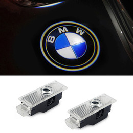 led lights bmw Canada - LED Car Door Courtesy Laser Projector Logo Ghost Shadow Light for BMW X3 X5 E60 E90 F10 F30 M5 Z4 F01