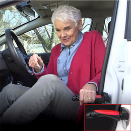 WindoW hammer online shopping - Portable Car Handle Cane Support Auto Assist Grab Bar Vehicle Emergency Escape Hammer Tool with Window Breaker and Seat Belt Cutter