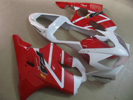 $enCountryForm.capitalKeyWord Australia - Injection molded hot sale fairing kit for Honda CBR600 F4I 01 02 03 white red fairings set CBR600F4I 2001-2003 OT20