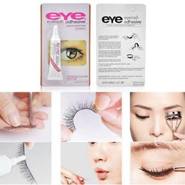 Barato Ferramentas De Maquiagem-Wholesale Factory Direct 100pcs / lot DUO Water-proof Eyelash Adhesivos (cola) 9G White / BlacK Make Up Tools Professional DHL Frete Grátis
