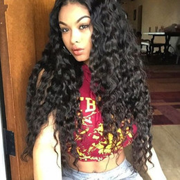 virgin swiss lace wig NZ - Lace Front Human Hair Wigs for Black Women Mongolian Virgin Hair 130 % Density Glueless Full Lace Wig FDSHINE