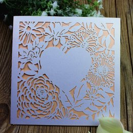 Laser cut heart shaped cards online shopping laser cut heart heart shape laser cut wed invitation romantic invitation multi colors birthday business graduration greeting card free shipping reheart Gallery