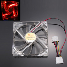 $enCountryForm.capitalKeyWord Australia - Wholesale- Malloom 2017 Top Sale Red Quad 4-LED Light Neon Clear 120mm PC Computer Case Cooling Fan Mod Cooler Accessories Free shipping