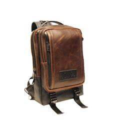 $enCountryForm.capitalKeyWord Canada - Wholesale- Man Sling Bag Quality Crazy Horse Leather Messenger One Shoulder Strap Bag Fashion Casual Flap Bags For Man SP6561