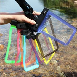 water proof phones Canada - Dry Bag Waterproof bag Underwater Pouch Swimming Diving Water proof Phone Case Swim Storage Drifting Sport Bags for iphone 6 7 8 plus X