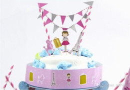 Dancing Girl Birthday Cake Topper Birthday Party Decorations Kids Birthday  Party Supplies Baby Shower Girl 2017 New Style