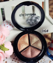 pro eye makeup 2019 - Smoky Cosmetic Set 3 Color Pro Matte Eye shadow Makeup Eye Shadow Palette Glitter Waterproof Natural Eyeshadow discount