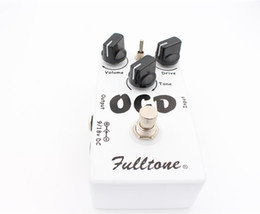 Wholesale Free Shipping Obsessive Compulsive Drive Overdrive Distortion (OCD) Guitar Effect Pedal Two mode selection (HI LOW) And True Bypass