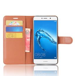 efc8cf88c520 Luxury Leather Wallet Phone Flip Cover Pouch Case For Huawei Enjoy 7 Plus  Y7 Prime Y5 2018 2017 II Y6II COMPACT Honor 5A Y6 Y9