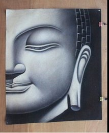 $enCountryForm.capitalKeyWord NZ - Buddha head,Handpainted abstract religion Art Oil Painting Wall Deco On High quality Canvas in Multi sizes