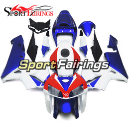 Honda F5 NZ - White Blue Part Red Black Complete Fairings For Honda CBR600RR F5 05 06 Year 2005 2006 Motorcycle Fairing Kit Injection ABS Plastics Cowling