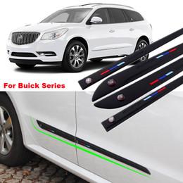 $enCountryForm.capitalKeyWord Canada - Car-styling 4pcs High-quality Anti-rub Body Side Door Rubber Decoration Strips Anticollision Strips For Buick Series