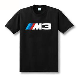 car shirts wholesale 2019 - Wholesale- 2017 New arrival men women t shirt NEW Bayerische Motoren Werke M3 M SERIES MPOWER MOTORSPORT tshit car logo