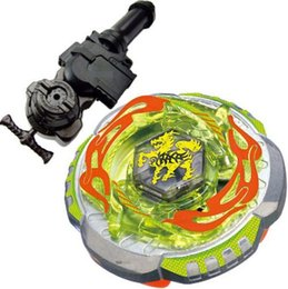 Wholesale 1PCS D Beyblade Metal Fight Rock Giraffe Zurafa R145WB Metal Masters BB78 Beyblade L R Starter Launcher Hand Grip