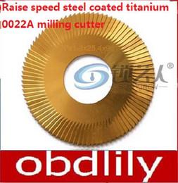 $enCountryForm.capitalKeyWord Canada - Raise speed steel coated titanium 3 surface 0022A milling cutter For WenXing Key Cutting Machine 100B,202,100A,100A1 locksmith