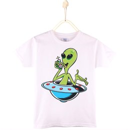 $enCountryForm.capitalKeyWord Canada - 2017 New Arrival Children T-shirt Cotton Alien UFO Extraterrest Short Kids T Shirts Girl Tops Tee Boy Clothes Baby Free Shipping