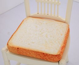 Mat toys online shopping - Emulational Toast Car Mats Creative Cat Exclusive Mats Plush Cat Toys Sliced Bread Bolster for cats