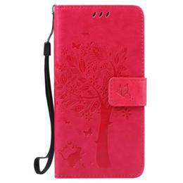 Discount samsung j1 ace pouches Tree Butterfly Wallet Leather Pouch Case For Samsung Galaxy J1 ACE J120 J210 J3 Pro J2 J5 J7 A3 A5 2016 A710 J710 Flower