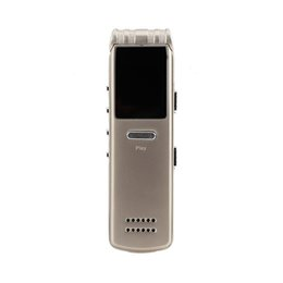 $enCountryForm.capitalKeyWord NZ - Mini Portable 8GB Voice Activated MP3  WMA  WAV Digital Audio Voice Recorder MP3 Player Built-in High-fidelity Speakers