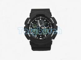 Ingrosso 1 pz New top relogio G100 orologi sportivi da uomo, cronografo a LED orologio militare orologio digitale orologio, buon regalo per, dropshipping