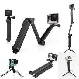 Accessories for hero online shopping - Accessories Stick Monopod way Multi function Folding Arm Self timer Lever Tripod Mounts for hero sj4000 MOQ
