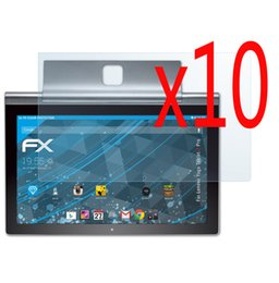 $enCountryForm.capitalKeyWord NZ - Wholesale- 10pcs lot LCD Clear Screen Protector Films Protective Film Guards For Lenovo Yoga Tablet Pro 2 Pro2 13.3 1380 1380F 13.3""