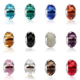 Großhandel Dhl perlen für schmuck machen passt pandora armbänder silber kristall perlen charme für diy europäischen halskette schmuck zubehör