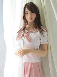 Life Size Solid Love Dolls Canada - Top Quality Real Silicone Sex Doll Life Size Japanese Sex Dolls Sweet Voice Lifelike Love Doll Realistic Sex Toys For Men