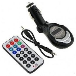 Remote Controlled Mp3 Player Canada - USB   SD   MMC Car MP3 Player, 12V car mp3, Car FM Wireless Modulator Transmitter with Remote Control with Screen Flash WMA, Free Shipping