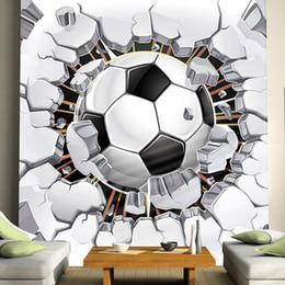 $enCountryForm.capitalKeyWord Canada - Wholesale- Cool! Football Photo Mural Custom Any Size 3D Boys Kids'Room Sofa Seamless Murals Wallpaper Rolls TV Background Wall Home Decor