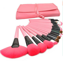 Chinese  24pcs Brand Makeup Brushes Tools Professional Cosmetics Kits Eyeshadow Foundation Powder Brush Sets MAKE UP FOR YOU Cheap Price manufacturers