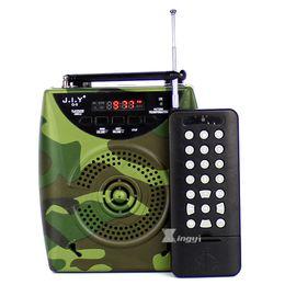 Remote sound caRd online shopping - 2200mAh Camouflage Portable Digital m FM Radio Wireless Remote Control Hunting MP3 Player Bird Caller Speaker Birds Sound Call Device