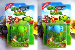 "$enCountryForm.capitalKeyWord NZ - Plants vs Zombies Toys Peashooter   Snow Pea ABS Shooting Doll 7cm 2.8"" Tall"