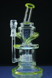 $enCountryForm.capitalKeyWord Australia - 2016 New Arrival glass bongs Thick glass water pipe Barrel perc Glass pipe double recycler smoking pipe 14 mm joint