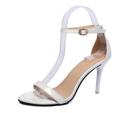 Red gladiatoR pumps online shopping - 2017 Women Summer Fashion Shoes women Sandals high heeled open toe Sandals lady Sandals female wedding dress Pumps aa391