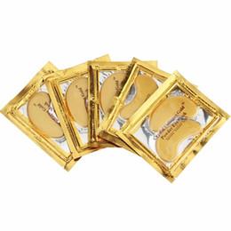 40шт (20 пар) золотой кристалл коллаген спальный маска для глаз Hotsale глаз Патчи туши тонкие линии уход за кожей лица